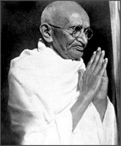 Gandhi in Prayer